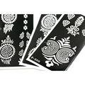 F Stencils For Panting Paper 16pcs/lot Tattoo Template Waterproof 6.8*3.4 Inch F01-198