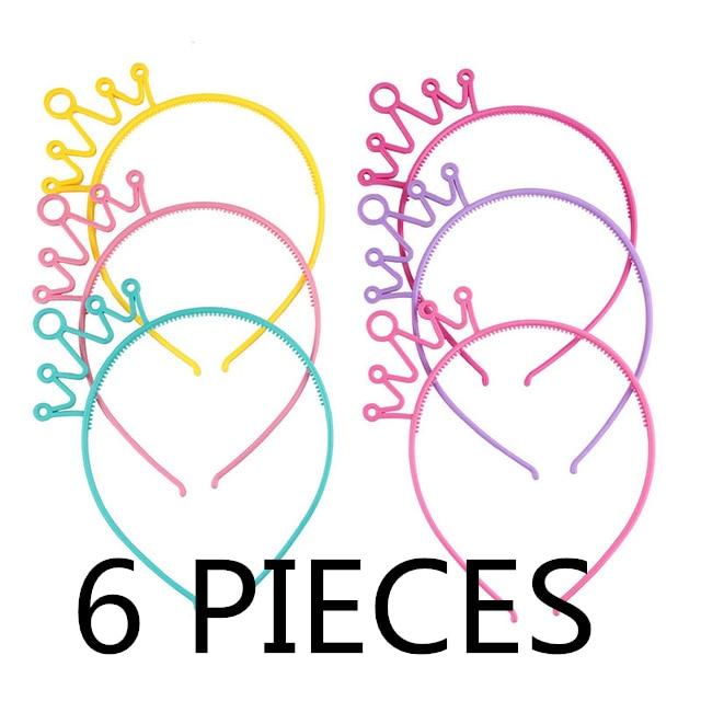 Party kellékek Hair Band lányok Cartoon Crown fejpántok Tiara - Ruházati kiegészítők