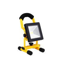 10W Rechargeable Slim led floodlight IP65 Waterproof DC5V portable lantern camping light Adapter+ car charger Russia warehouse