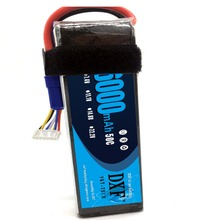 DXF 22.2V 6S 6000mAh 50C RC Lipo Bateria Max 100C 22.2V RC LiPo Battery AKKU For Yak 54 Airplane Helicopter Align 7.2 Drone