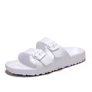 Image 2 - AODLEE Plus Size 45 Fashion Men Sandals Slip On Breathable Brand Summer Beach Sandals Men Slides Casual Shoes sandalias hombre