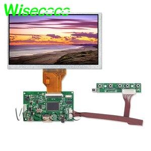 7 pollici LCD TTL LVDS Scheda di Controllo HDMI VGA 2AV 50 PIN adatta SOLO per AT070TN90 92 94 Supporto Automaticamente raspberry Pi