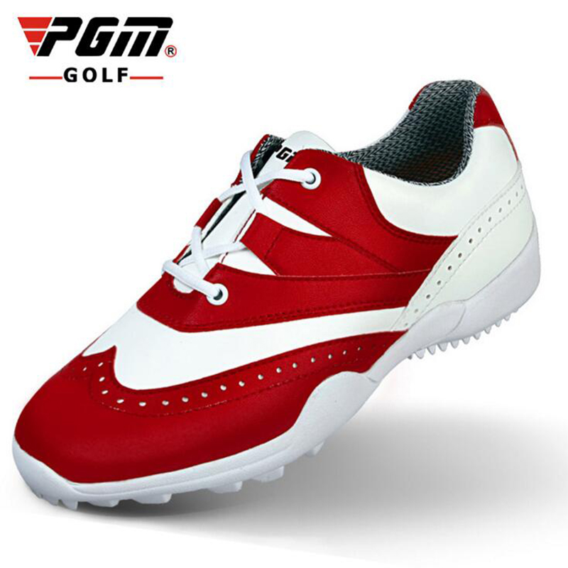 PGM Brand High-quality golf lady sports shoes sneakers wind super fiber skin super light waterproo