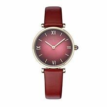 Ibso/boerni aibisino 울트라 얇은 시계 여성 패션 쿼츠 시계 방수 가죽 스트랩 숙녀 시계 b2210l