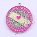Free Shipping 10pcs/lot Rhinestone Doctor Bandage Pendant Movie Pendant For Theme Jewelry CDRP-503859