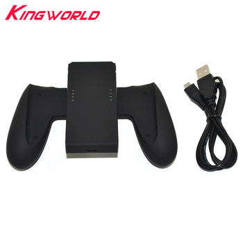 Xunbeifang 20pcs 1000 Mah Battery Capacity Power Bank Charger Stand Handle Grip for S-witch Joy-Con with USB cable