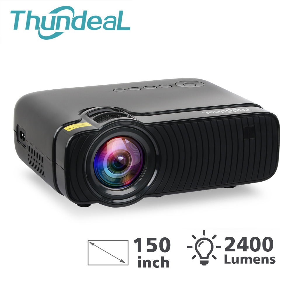 ThundeaL K2 T2 S33 V3 S33Pro Mini Projector 2400Lumens for 1080P Video HD 3D Proyector Portable