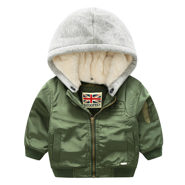Утепленная зимняя теплая детская куртка ветрозащитная детская верхняя одежда Повседневное съемный капюшоном Куртки на девочек и мальчиков для от 3 до 10 лет