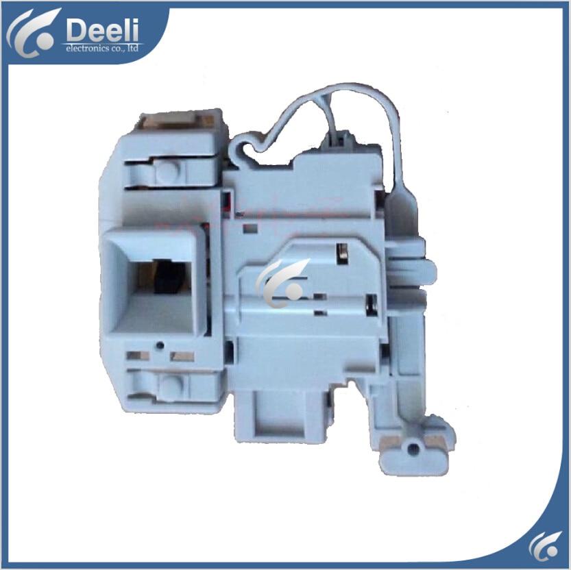 Free shipping Original for washing machine electronic door lock delay switch WS12M4680W WM12S3600W electronic door lock original new for lg drum washing machine door hinge 42741701 1pcs