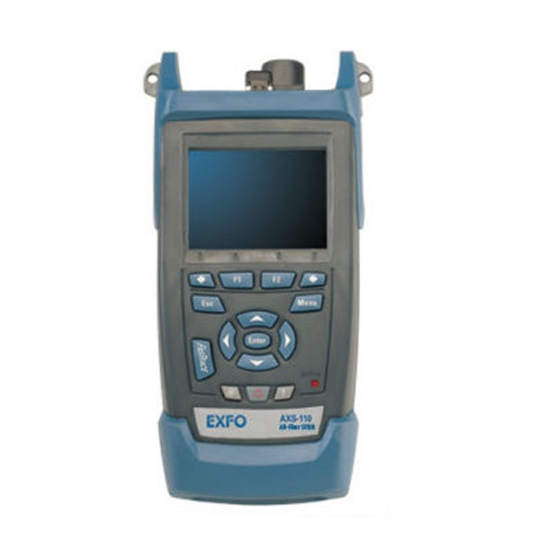 Handheld EXFO OTDR AXS-110-23B-04B 1310/1550nm, 37/35dB,Integrated VFL, Touch Screen Optical Time Domain Reflectometer