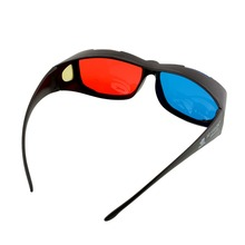 3D Gafas rojo azul para cine en casa proyector LED 3D Gafas para cine
