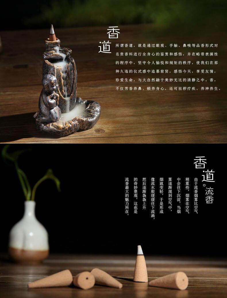 fragrância incenso perfumado chá Kung Fu peças