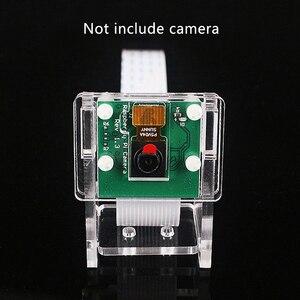 Image 3 - Raspberry Pi 3b + funda para cámara/soporte para Módulo de cámara, carcasa protectora y soporte 2 en 1 carcasa transparente acrílica, solo funda