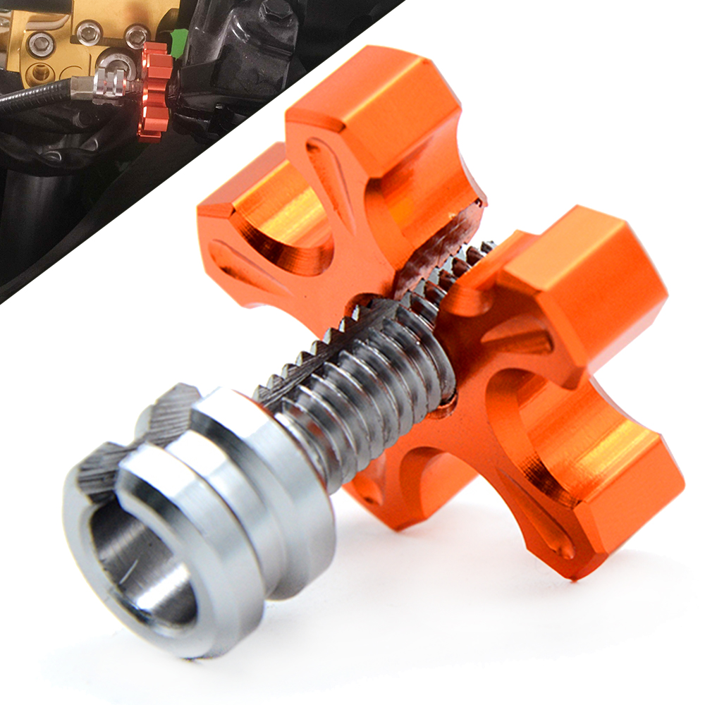 Motorcycle Billet Clutch Cable Wire Adjuster Screw M8/M10 for <font><b>yamaha</b></font> <font><b>XVS950</b></font> BOLT R SPEC SCR950 FZR 1000 Genesis FZR600 FZR 400 image