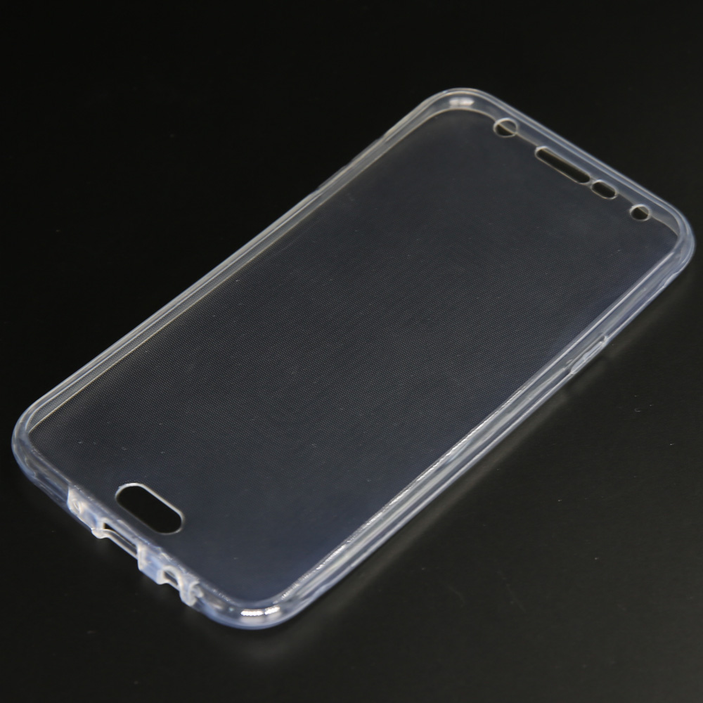 newest 0af8a e358c US $1.58 20% OFF|For Samsung Galaxy J7 Neo J701M/J7 Nxt J701F/J7 Core SM  J701 Full Body Protective Front &Back Clear Case Soft Silicone Gel Cover-in  ...