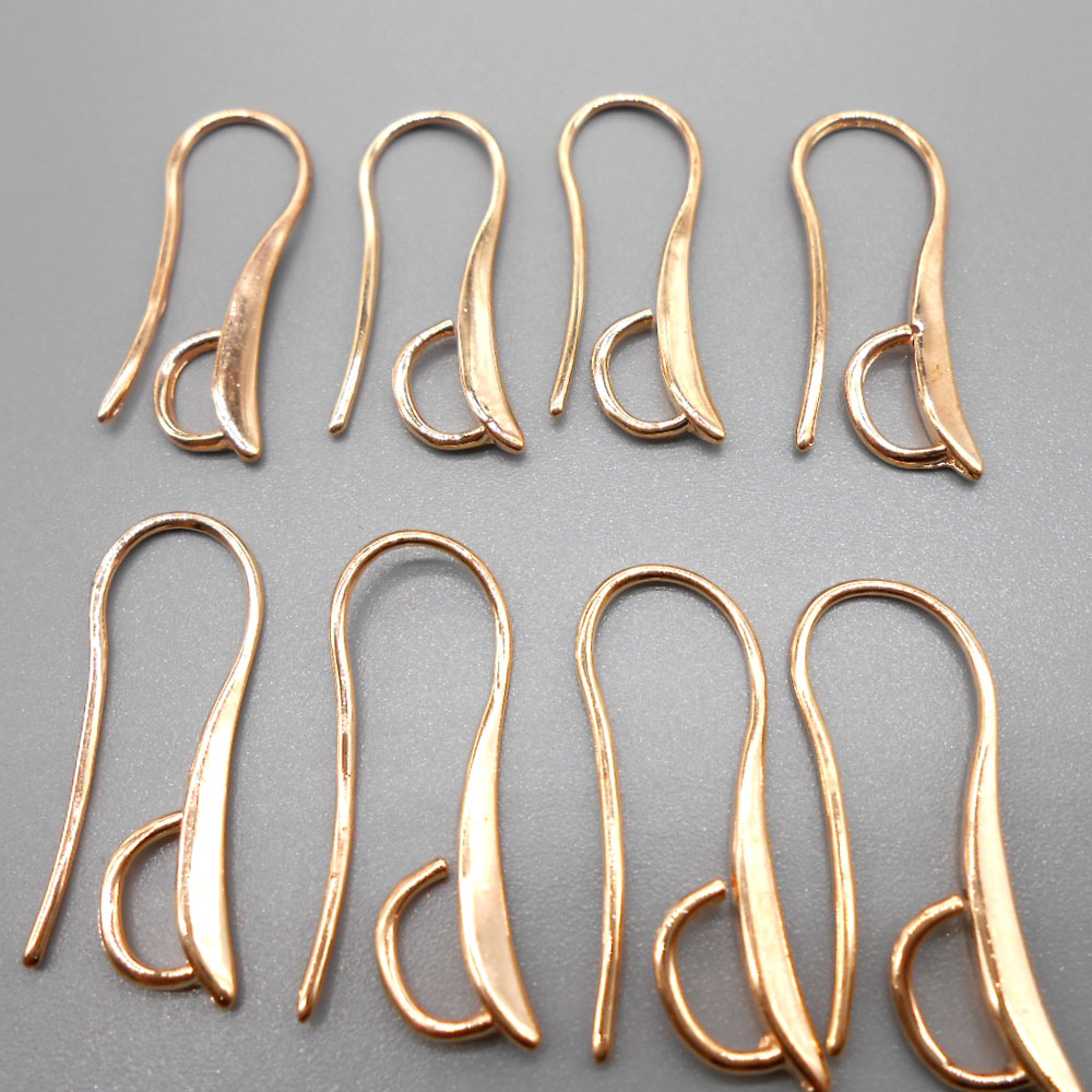 Free Shipping 10PCS Lot Making Design Rose gold Jewelry Findings