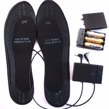 Eco Friendly Customized Battery Heated Shoes insoles Safe USB Powered heated insoles External Battery Pack