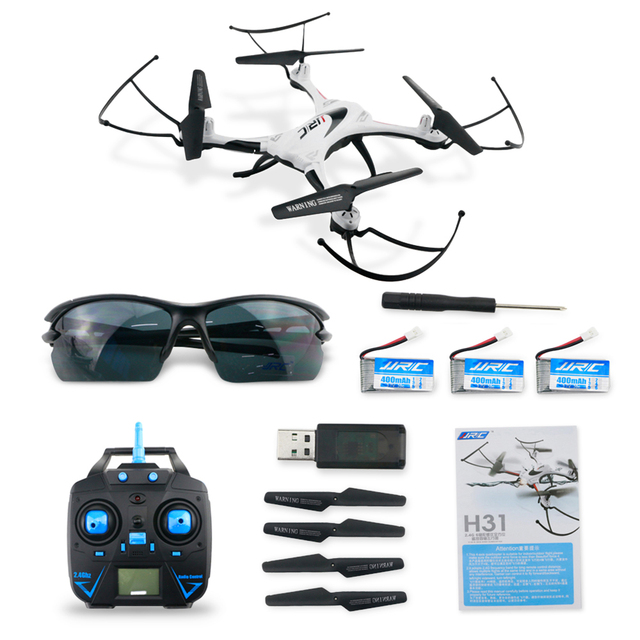JJRC H31 Waterproof RC Drone 2.4GHz 4CH RC Quadcopter Headless Mode RC Helicopter Customization LED Light 3D Aerobatic Flight