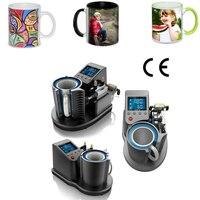 Mug Heat Press PNEUMATIC AUTO ST 110 Sublimation Mug Print Transfer Black White