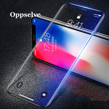 Tempered Glass For iPhone X Xr PET Edge 3D Full Cover Protection Screen Protector Toughened Film Xs Max 2PCS