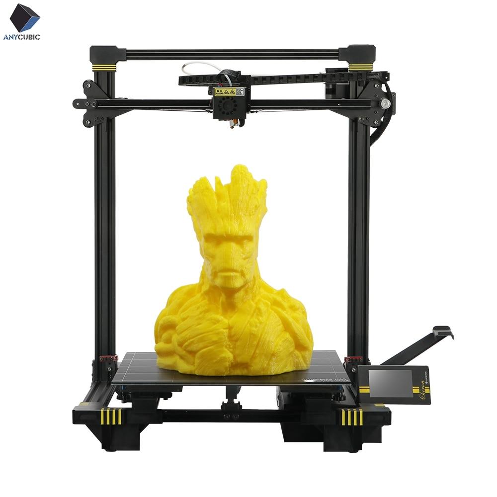 Anycubic 3d Printer Chiron Plus Size 400 380 450mm 3D printer Print DIY Kits FDM TFT