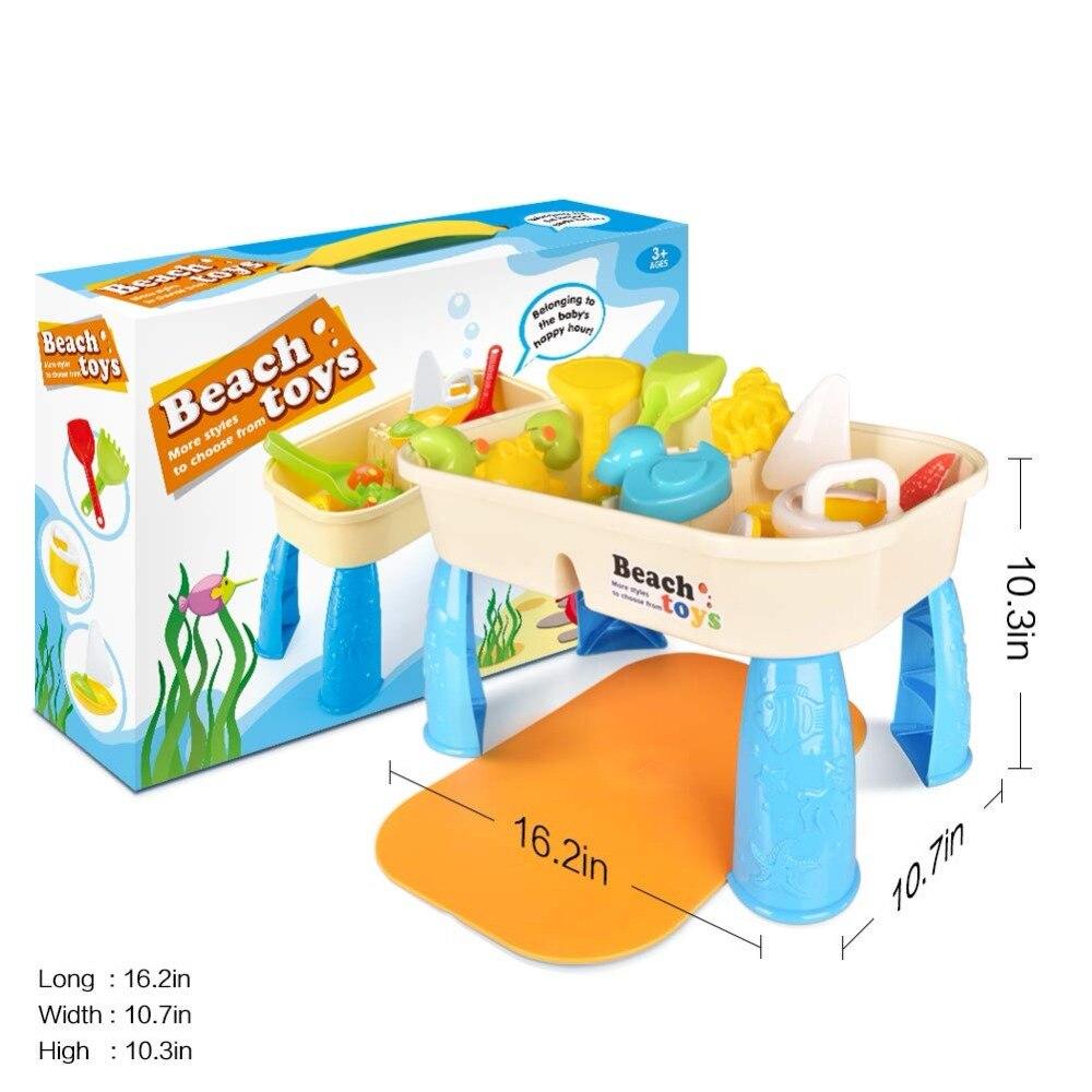 pçs jogo de praia do bebê brinquedos