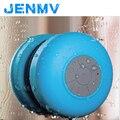 Portable de la mini manera bluetooth altavoz subwoofer inalámbrico de altavoces a prueba de agua baño altavoz para smartphone ordenador con micrófono