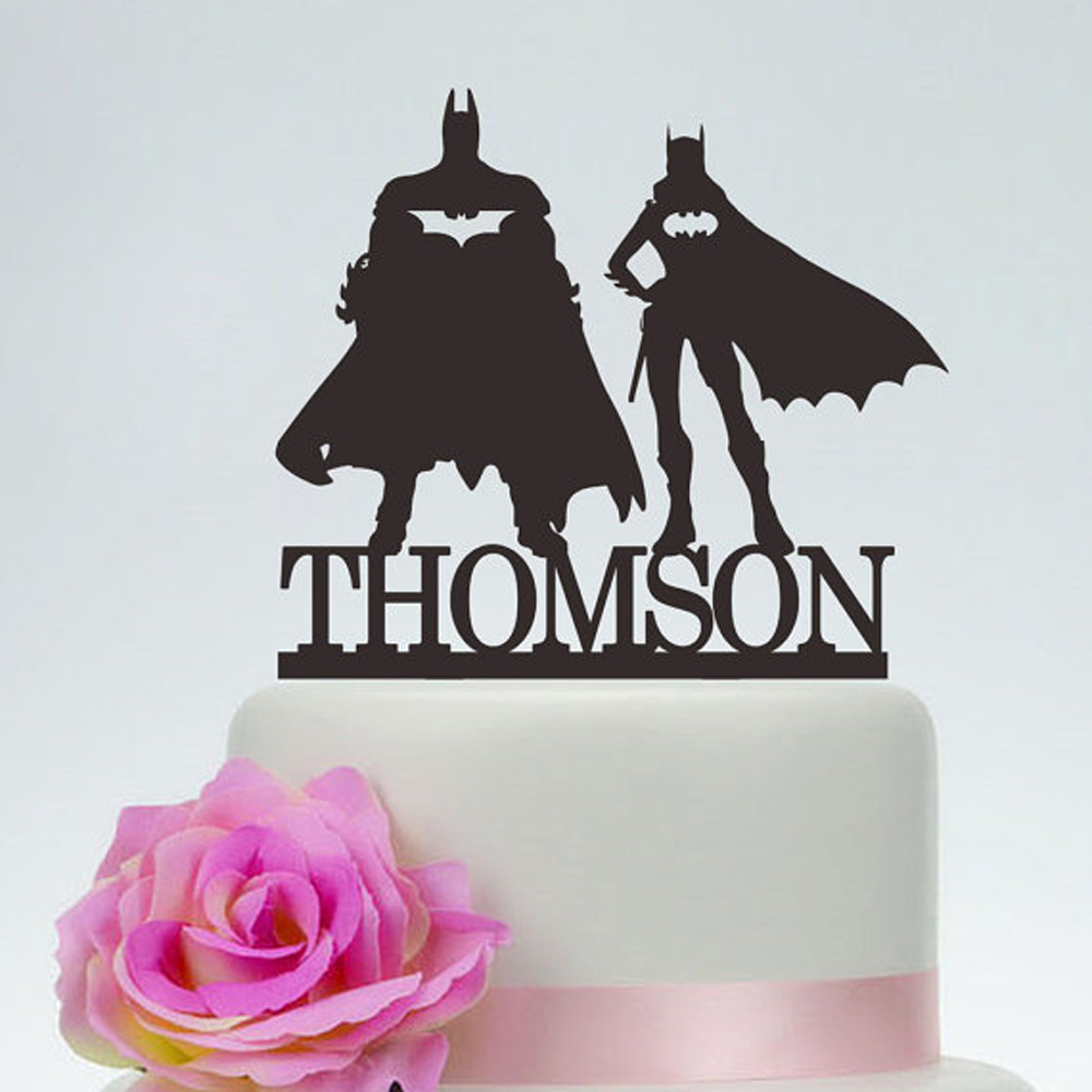 Superhero Wedding Cake Topper Unique Mr And Mrs Wedding Cake