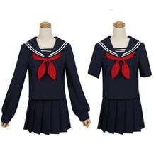 Anime My Hero Academia Boku no Himiko Toga JK Uniform Skirts Sweater Sweatshirts Cardigan Cosplay Costumes Suit
