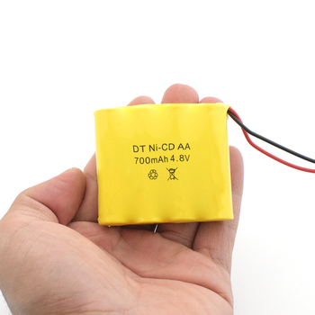 Pilas AA recargables de larga duración, 1/2/4/8 Uds., 5,6x5,1x1,4 cm, 700mAh, SM-2P, 4,8 V, ni-cd, para coche y bote a control remoto