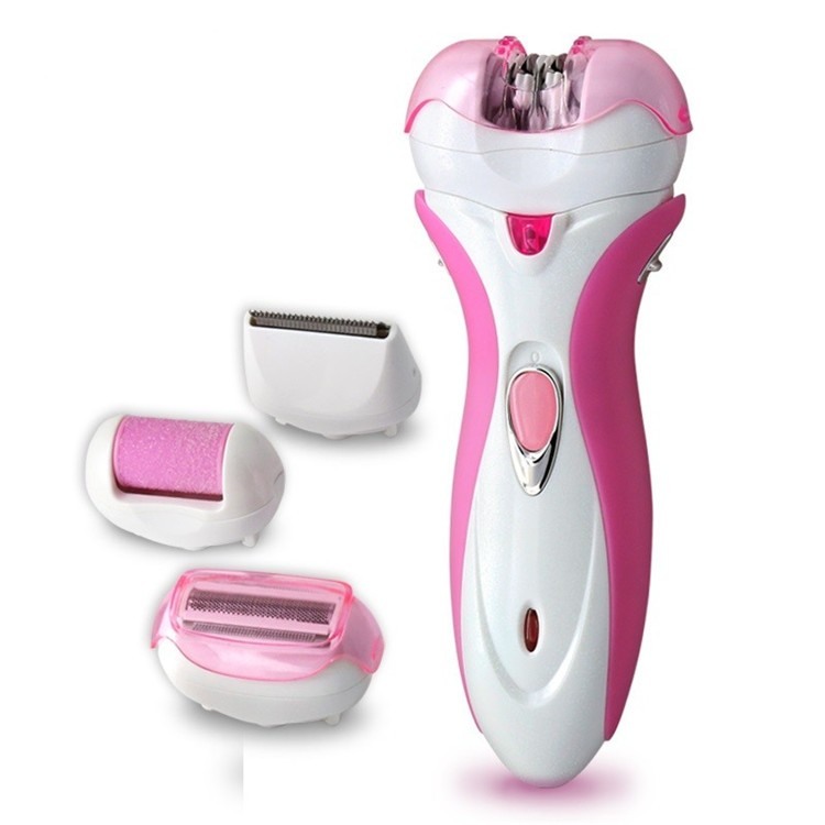 New-4-in-1-kemei-Multifunctional-Electric-shaver-Rechargeable-Women-Epilator-Hair-Removal-body-Foot-Care