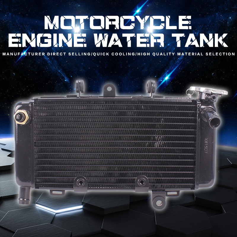 Motorcycle Aluminum Radiator Cooler Water Cooling System Water Tank For Honda Magna JADE Sapphire Magna250 JADE250 Dragon Dogs motorcycle radiator for honda cbr600rr 2003 2004 2005 2006 aluminum water cooler cooling kit