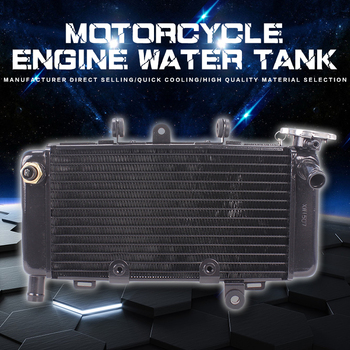 Motorcycle Aluminum Radiator Cooler Water Cooling System Water Tank For Honda Magna JADE Sapphire Magna250 JADE250 Dragon Dogs
