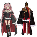 Seraph Of The End Krul Tepes Uniform Dress Outfit Cosplay Costumes Any Size