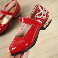 230b0a8a6 Fashion Rhinestone Big Girls Shoes With Rose Flower Fashion Princess Slip  On Children Flat Shoes For. Diamantes de imitación moda las niñas grandes  zapatos ...