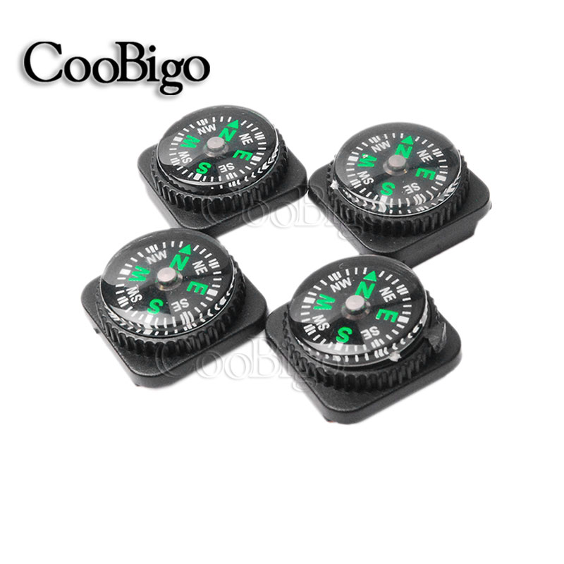 The Cheapest Price 10pcs Pack Belt Buckle Mini Compass For Paracord Bracelet Camping Hiking Emergency Survival Navigation Travel Kits #flq177-20rb Refreshing And Enriching The Saliva Arts,crafts & Sewing