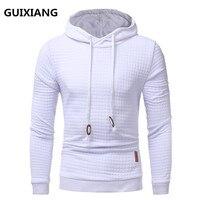 2018 Spring New Casual Plaid Hoodies Men S Casual Fashion Sweatshirts Long Sleeve Hoodies High Quality