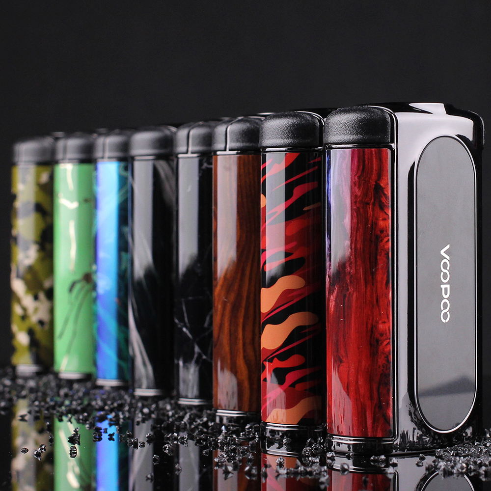 New Original 200W VOOPOO Vmate TC Box MOD with Updated Chip Max 200W Huge Power No 18650 Battery Box Mod Vape Mod VS Voopoo Drag