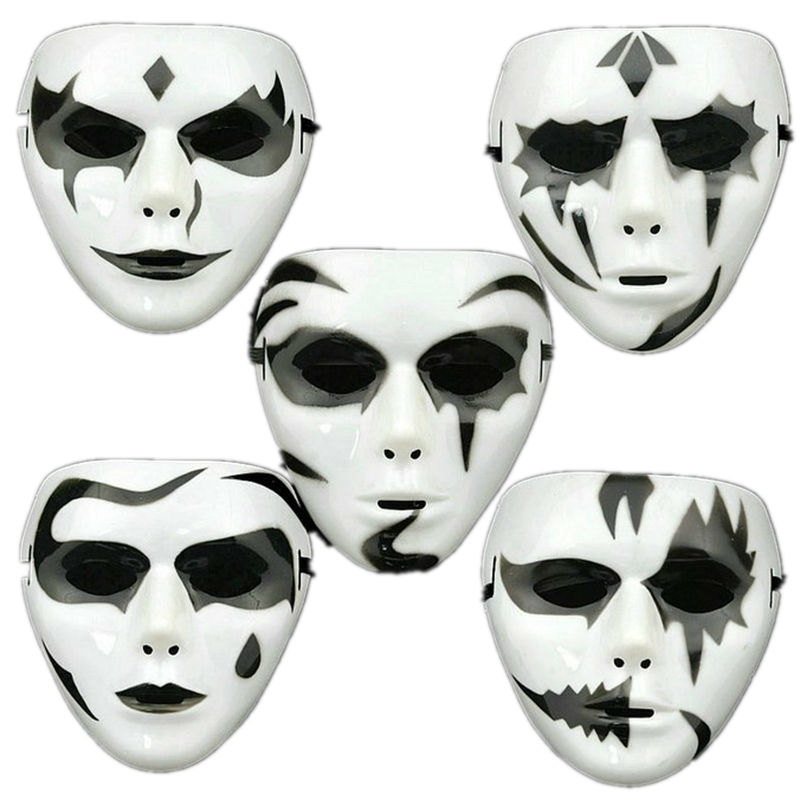 Christmas Hip Hop Dance White Horror Mask Halloween House Party