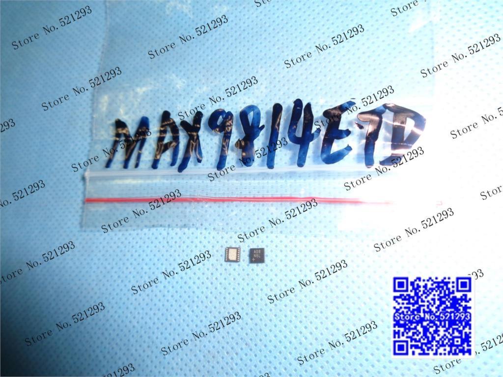 Original MAX9814ETD MAX9814 ADB QFN 50PCS LOT in Stock
