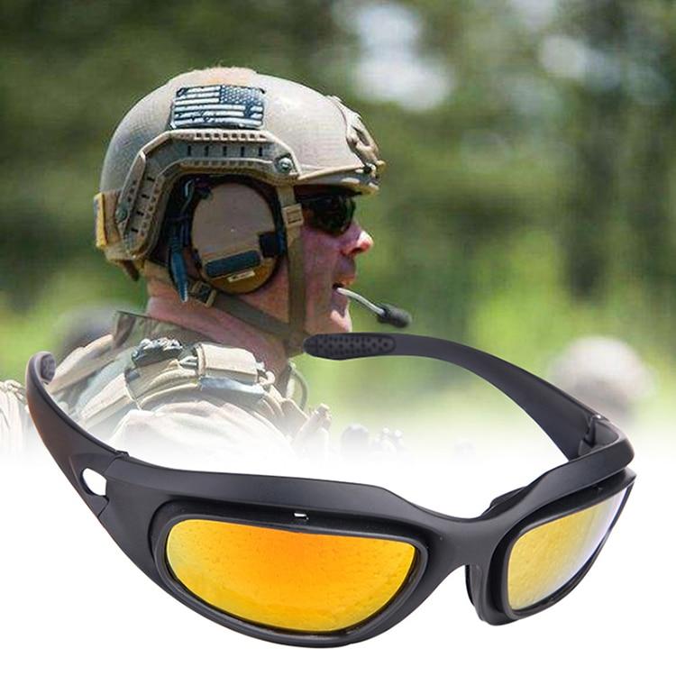 2db10f870b Daisy C5 UV-400 gafas protección caza táctico gafas de sol al aire libre  deportes Airsoft gafas QZ0177