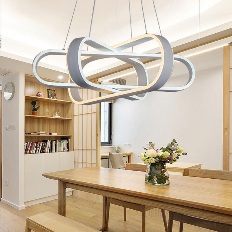 Lamps modern minimalist personality art LED chandelier restaurant office staircase aisle lamps led lighting fixture chandelier|Pendant Lights|   - title=