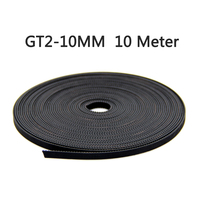 10m Lot GT2 10mm Open Timing Belt 3D Printer Part Width 10mm GT2 Belt 10mm For