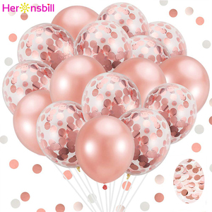 20pcs 12inch Latex Confetti Air Balloons Happy Birthday Decorations Kids Adult Its A Boy Girl Wedding Party Supplies Babyshower(China)