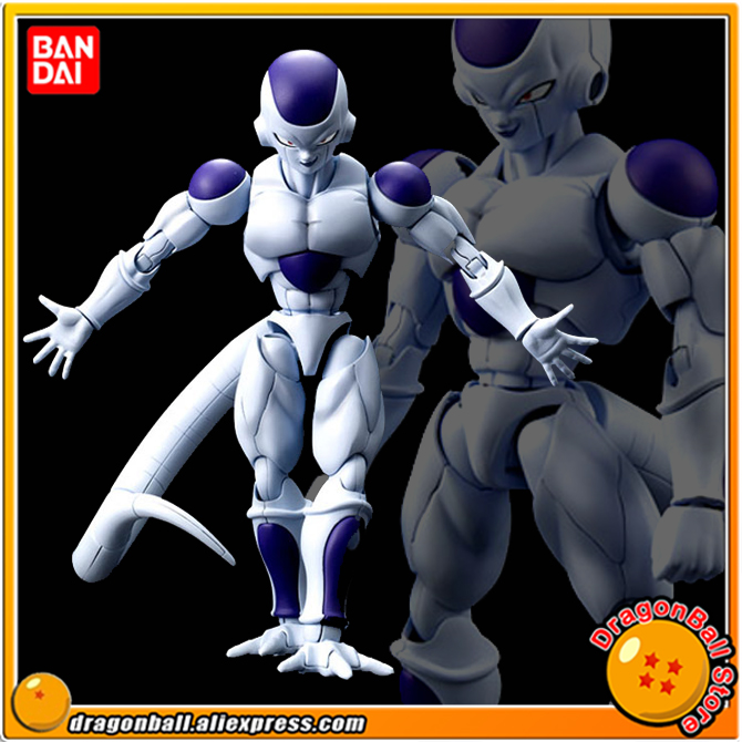 Anime Dragon Ball Z Original BANDAI Figure-rise Standard Assembly Action Figure - Frieza (Final Form) Plastic Model anime dragon ball z shf frieza freeza the final form pvc action figure collectible model kids toys doll free shipping