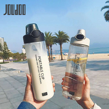 JOUDOO 800ML High Capacity Outdoor Sport Water Bottle Quality Hot Sale Simple Portable Couple Plastic 35