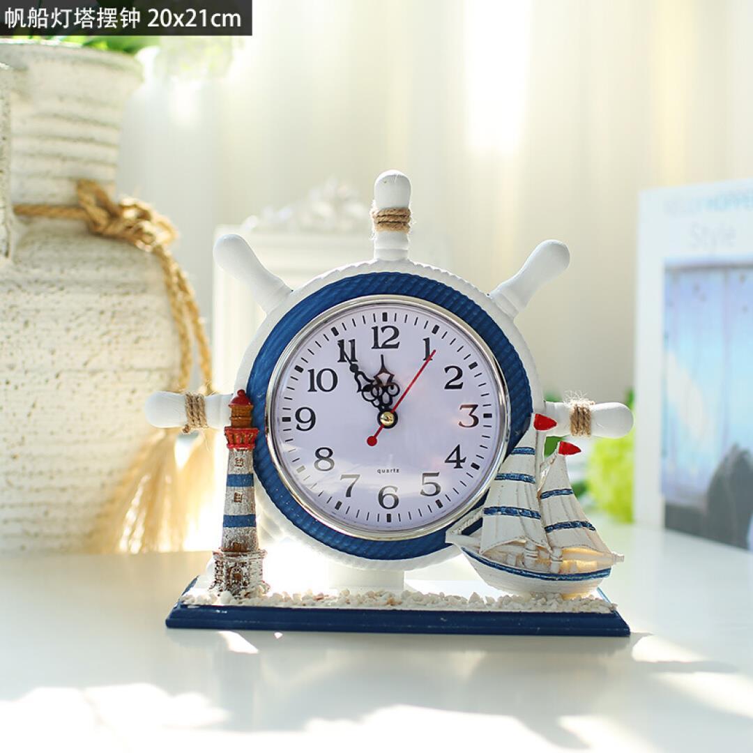 Horloge électronique lit créatif chambre horloge siège salon bureau décoration chambre d'enfants décoration horloge silencieuse WL5221410
