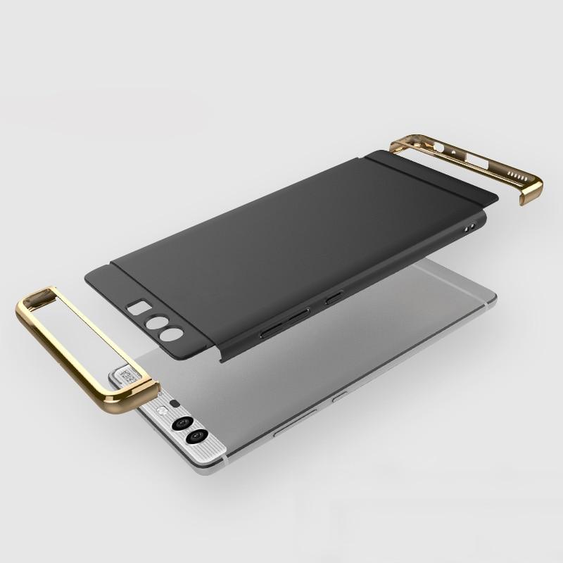 KOOSUK Bakomslag För Huawei P10 Lite Guldpläterad 3 i 1 - Reservdelar och tillbehör för mobiltelefoner - Foto 4