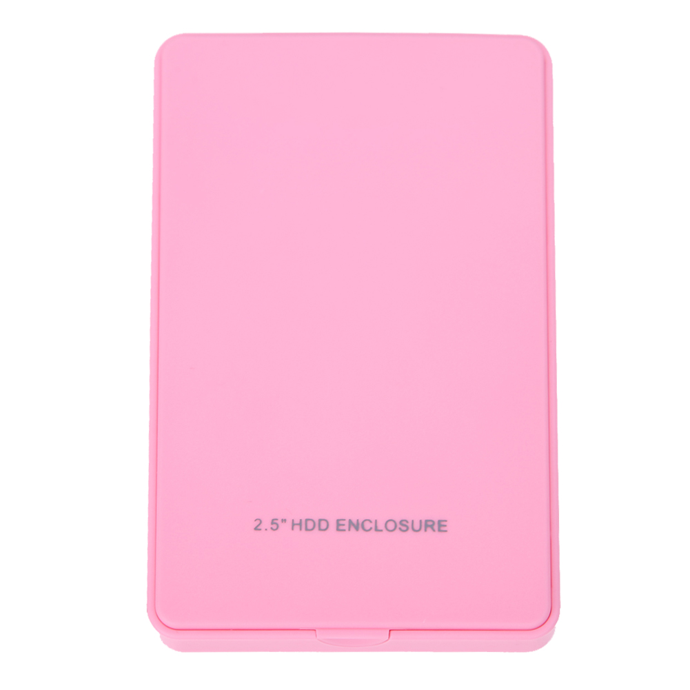 High Speed USB 2.0 2.5 Inch IDE HD Hard Disk Drive HDD External Case Enclosure Box Up 500GB For Mac OS Notebook Laptop PC