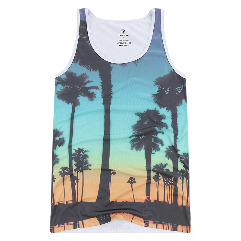 Fashion Sexy Men's   Tank     Tops   Summer Style Quick Dry Fitness Men's Vest Bodybuilding Casual Upper Body Workout for Men